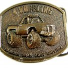 1976 4 Wheeling Is More Than Just Driving Belt Buckle by Bergamont 04102014