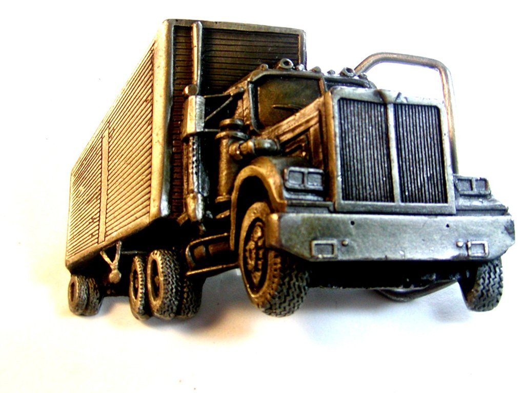 Vintage 1979 18 Wheeler Truck by Indiana Metal Craft