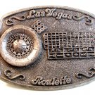 Vintage1982 Las Vegas Roulette Belt Buckle