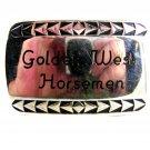 Vintage Golden West Horsemen Belt Buckle Unbranded 12162013