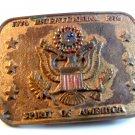 Vintage 1776 - 1976 Spirit of America Bicentennial Belt Buckle