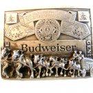 Vintage Budweiser Horses & Wagon Belt Buckle by Marxatron