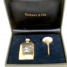 Tiffany Sterling Silver Perfume Bottle & Funnel In Box
