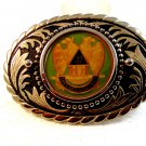 Vintage 32nd Degree Masonic Fraternal Belt Buckle