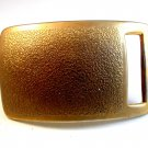 Large Military Re-enactment ? Gold / Brass Tone Belt Buckle
