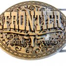 Vintage Frontier Hotel Las Vegas Belt Buckle