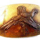 Vintage Pheasant Belt Buckle by J. Rudolph