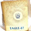 1967 Eagle Wilmer Hutchins High School Texas Yearbook