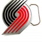 Portland Trail Blazers Basketball Logo Belt Buckle