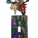 Moose Single Switch Outlet Cover Plate by LaZart USA 6915