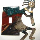 Kokopelli w/ Flute Single Switch Cover Plate by LaZart 022315B