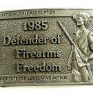 NRA 1985 Defenders of Firearms Freedom Belt Buckle 10312013