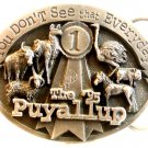 1995 Siskiyou You Don't See That Everyday Puyallup Belt Buckle