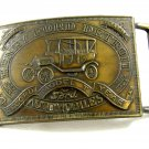 Henry Ford Record Model T Year Automobiles Belt Buckle 092614