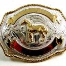 Western Cowboy Rodeo Horse Belt Buckle 2192014