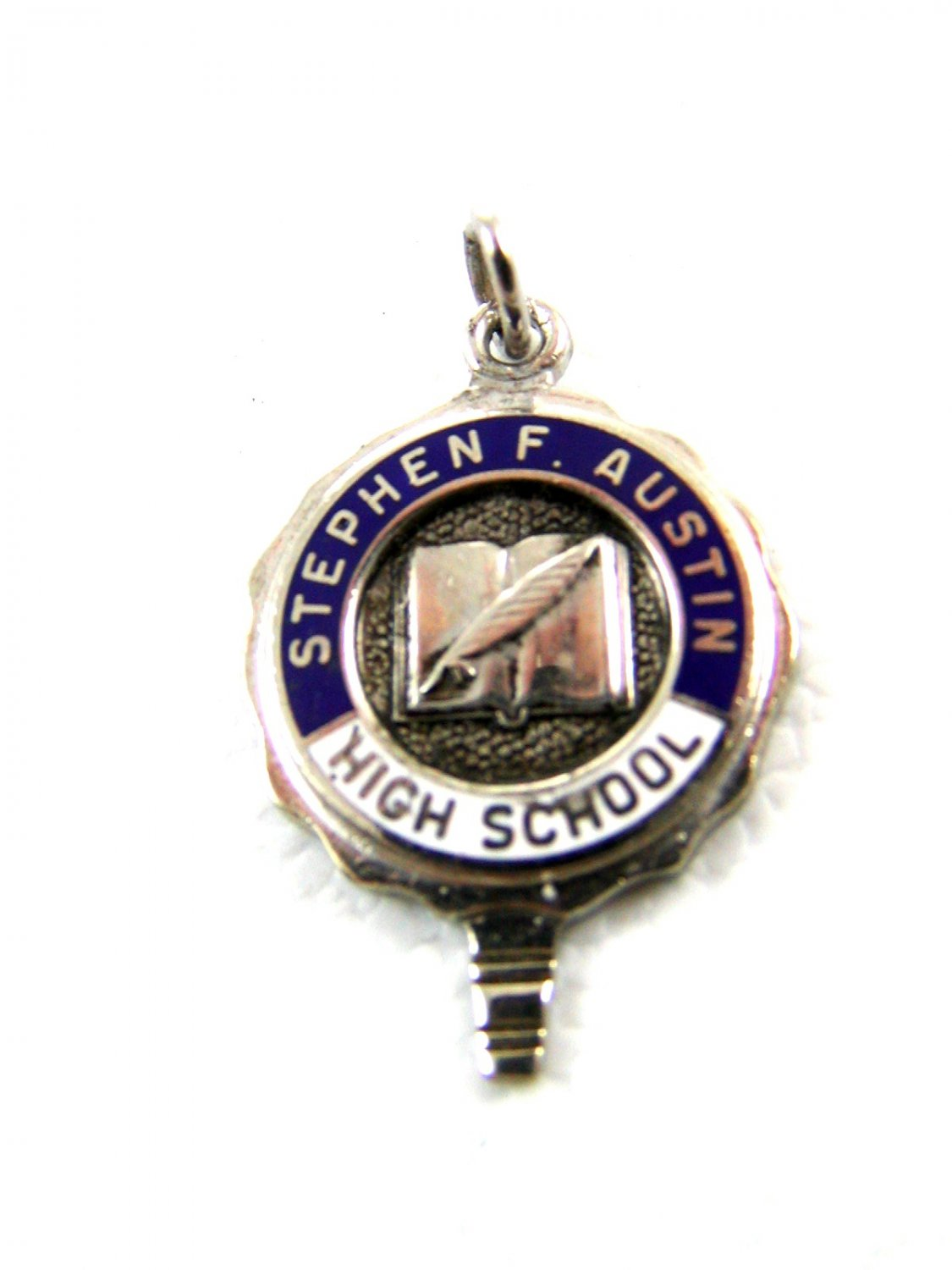 Stephen F. Austin High School Houston Texas Charm / Pendant / Key 52914