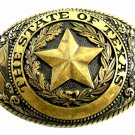 The State of Texas Belt Buckle by Tony Lama 7214