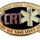 Cardiac Rescue Technican We Save Lives Belt Buckle 1114
