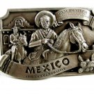 1985 Mexico Comemorative Belt Buckle by Arroyo Grande 102314