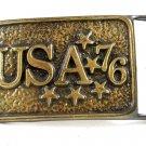 1976 USA '76 Bicentennial Belt Buckle 10292013