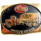 Anacortes Brass CRN - CRM ? Truck Concrete Belt Buckle 12022013