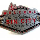 2005 Welcome to Fabulous Sin City Nevada Belt Buckle