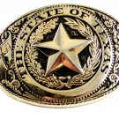 The State of Texas Belt Buckle Made in USA 12112013bb