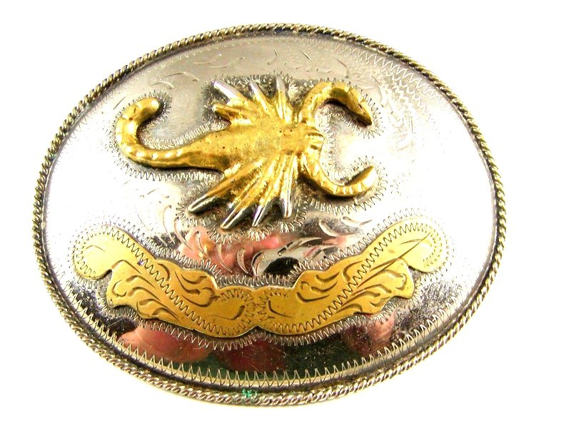 Large Mexican Scorpion Belt Buckle 61914
