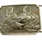 1989 Pigs In Love Belt Buckle by F&W Productions 092914