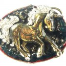 1981 Unicorn Belt Buckle by Great American Buckle Co Made In USA 7215