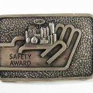 USI Safety Award Houston Belt Buckle by Ad Sense 7615