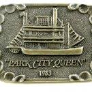 1983 Park City Queen River Boat Belt Buckle 1042013