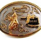 Gene Autrey Oklahoma 1841 - 1991 Belt Buckle No. 19 by Award Designs