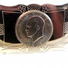 1971 Eisenhower Dollar Belt Buckle