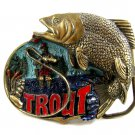 1982 Made in USA Trout Belt Buckle #102213