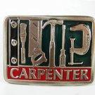 Saw Hammer Screwdriver Carpenter Belt Buckle Unbranded Made In USA 71715
