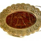 200 Years Ago Liberty Bell Belt Buckle