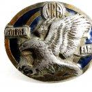 NRA Golden Eagle Belt Buckle Made in USA 82814