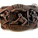 1991 Law / Police Enforcement Commemorative Belt Buckle