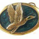 1983 Duck In Flight Belt Buckle by Great American Buckle Co 7215