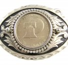 United States of America One Dollar Coin Belt Buckle 62614