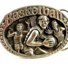 1983 Made in USA Basketball Belt Buckle 11112013