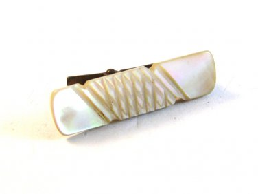 Victorian Mother of Pearl Tie Clasp