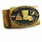 1993 - 1994 East Coker Project Baton Rouge LA Money Clip By Nacortes Brass Works