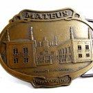 Mateus Product of Portugel Dreyfus Ashby & Co Belt Buckle 6914 Not Signed