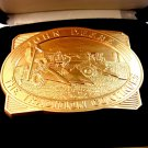 1994 The Tradition Continues John Deere Belt Buckle Mint in Box