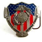 US Marine Corps Semper Fidelis Belt Buckle by Great American Products