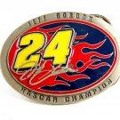 2006 Jeff Gordon Nascar Champion Pewter Belt Buckle 12112013rc