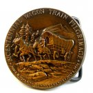 1975 - 1976 Bicentennial Wagon Train Pilgrimage Belt Buckle