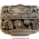 1987 Commemorative LImited Edition Mississippi Farmer Belt Buckle